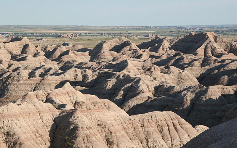 Badlands, USA. Lehigh University: David Anastasio